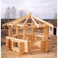 Строительство монтаж деревянных беседок
