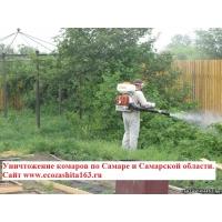 Уничтожение комаров. Обработка участка от комаров. Борьба с комарами