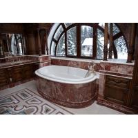 Облицовка ванной мрамором
