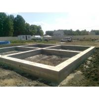 Фундамент бетонные работы