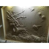 картины 3D из гипса, картины на холсте