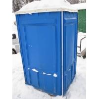 Установка мобильной туалетной кабины