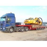 Услуги трала по перевозке спецтехники и негабаритных грузов по России