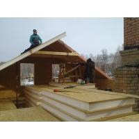 Строительство мансарды из сип панелей