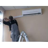 Установка кондиционера мощностью 5,5 — 9,0 кВт (стандартный монтаж*, фреон R22, R410)