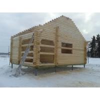 Строительство домов, бань из оцилиндрованного бревна