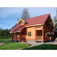 Строительство домов и бань из оцилиндрованного бревна и профилированного бруса