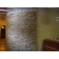 Монтаж декоративного камня на стены