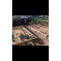 сборка заливка фундаментов и плит перекрытий
