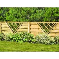 Деревянный забор «Простор»