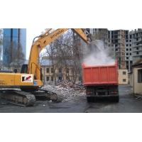 Уборка и вывоз строительного мусора.