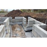 Строительство фундаментов монолитных, блочных
