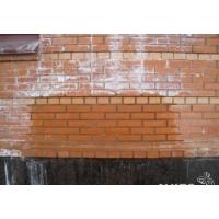 Очистка фасадов от высолов и гидрофобизация