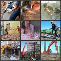 Демонтаж зданий, сооружений, ветхих конструкций