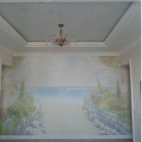 Роспись стен, потолков, декор мебели