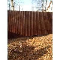 Забор из профнастила по низким ценам