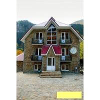 Фасадные работы природным и декоративным камнем.