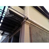 фасадный декор, покрытие для пенополистирола