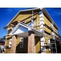 Утепление фасадов частных домов минеральной ватой