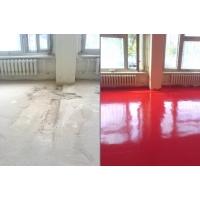 Ремонт бетонного пола полимерами. Шлифовка, обеспыливание, упрочнение бетонных полов.