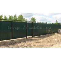 Заборы, ворота, калитки, изготовление и установка, забор для всех