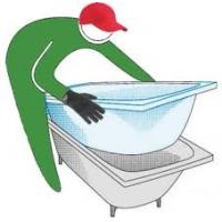 Акриловый вкладыш в ванну. Ванна-вставка. Нижний Новгород