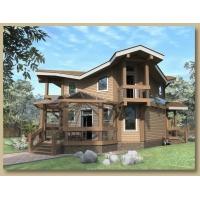 Изготовление деревянных домов из клееного бруса