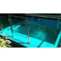 Полипропиленовый бассейн голубой 2х3х1,5 м толщ. 5мм