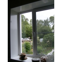Теплые откосы, пластиковые окна
