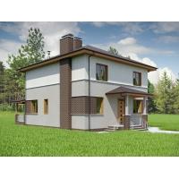Дома из блоков по индивидуальным и готовым проектам