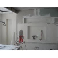 Монтаж конструкций из гипсокартона по стенам