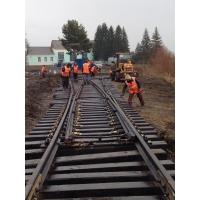 Железнодорожный путь, ремонт строительство