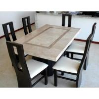 изготовление и доставка столов из натурального камня (мрамор, травертин, гранит)