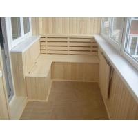 Обшивка балкона и лоджий