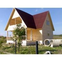 Строим дома бани по самым низким ценам из профилированного бруса.
