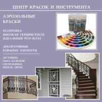 Аэрозольные краски в баллонах - индивидуальный заказ для промышленного и декоративного применения