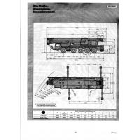 автокран LIEBHERR LTM 1200/1 ГП 200 тонн, высота подъема 102 метра