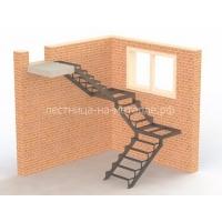 Производство и установка лестниц на металлическом каркасе по индивидуальному проекту под ключ