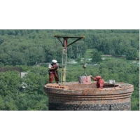 Комплексный ремонт, покраска заводских дымовых труб (кирпич, бетон, металл). Монтаж/демонтаж