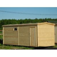 Бытовка Бюджетная деревянная 2.3 × 5.8 м