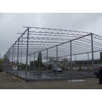Строительство ангара, склада