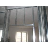 Монтаж стен, перегородок, потолков из гипсокартона под ключ