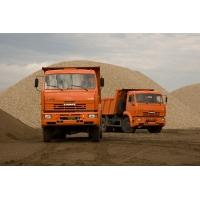 Доставка песка, щебня, ПГС, ОПГС, черной земли