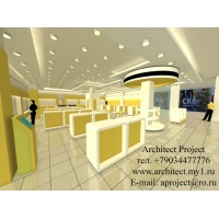 Дизайн магазинов, салонов, кафе, торговый дизайн