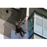 Утепление (теплоизоляция) фасада здания, балкона, стен