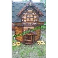 Копка колодцев, домики для колодцев