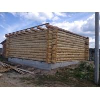 Срубы домов и бань, монтаж, крыши, фундаменты