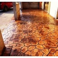 Печатный и напыленный бетон в Омске