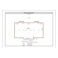 Поэтажный план с экспликацией