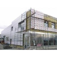 Фасады вентилируемые, навесные - монтаж